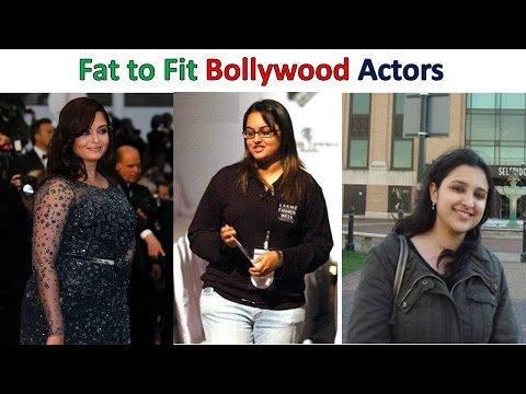 Top Bollywood Actresses Who went from Fat to Fit