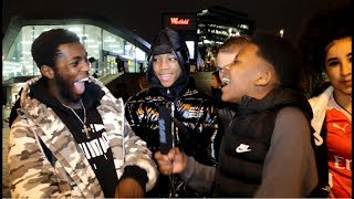 BAITING OUT THE WORST UK RAPPER (STRATFORD EDITION) - KSTAR IN PUBLIC
