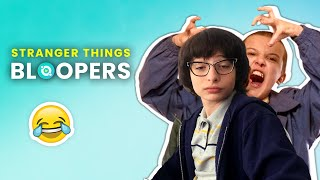 Stranger Things: Bloopers And Funny Moments Revealed |🍿 Ossa