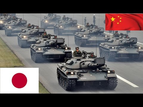 China VS Japan Military Strength Comparison
