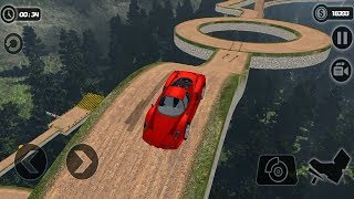 IMPOSSIBLE HILL CAR DRIVE GAME 2019 #Sports Car Games To Play #Car Games 1 #Games For Kids