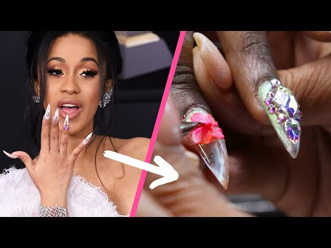 Cardi B s Nail Artist Did Our Nails
