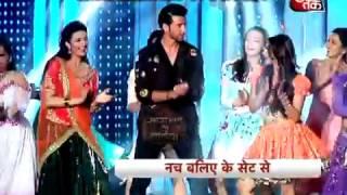 Where is Hrithik Roshan flirting with Divyanka Tripathi and Sanaya Irani?