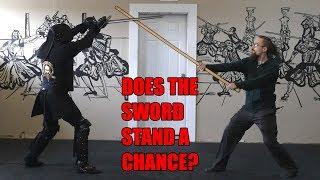 Staff vs. Sword - Guard Breaker?