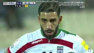 Japan 1 Iran 1 friendly 2015