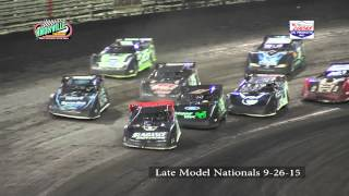 Late Model Knoxville Nationals 9-26-15