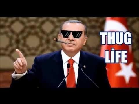Recep Tayyip Erdoğan unutulmaz kapakları Eylül 2016  (EFSANE THUG LİFE )