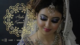 Nikkah Bridal Look by Aisha Kanwal MUA