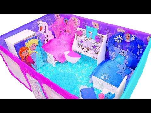 Xxx Mp4 DIY Miniature Frozen Dollhouse In A Shoebox 3gp Sex