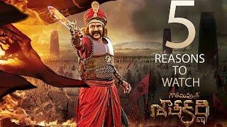 5 Reasons to watch Gautamiputra Satakarni by Krish - #NBK100