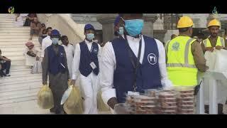 مشروع إفطار صائم بالمسجد الحرام للنصف الأول من رمضان لجمعية نماء الخيرية لعام 1439هـ