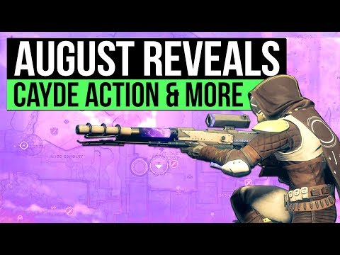 DESTINY 2 NEWS Big August News Reveals Cayde 6 Dual Wield Action Gear Managers & D2 is Easier