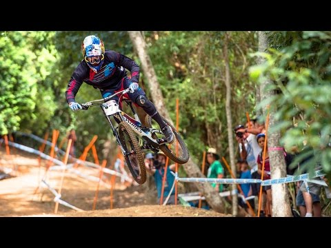 Charging the Downhill MTB Track in