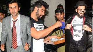 Arjun Kapoor's GRAND Birthday Party | Full Video | Ranveer Singh, Ranbir Kapoor