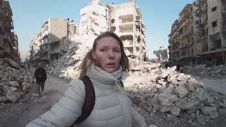 Aleppo streets 360: 'Surreal, cinematic in a bad way'