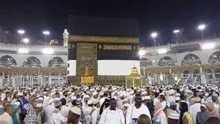 Slow motion Fajr Tawaf and Namaz Haj 2016