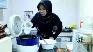 Resep dan cara membuat NASI UDUK memasak menggunakan  RICE COOKER