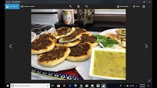 لحم بعجين الشهي وسهل , اكلات عراقيه ام زين  IRAQI FOOD OM ZEIN