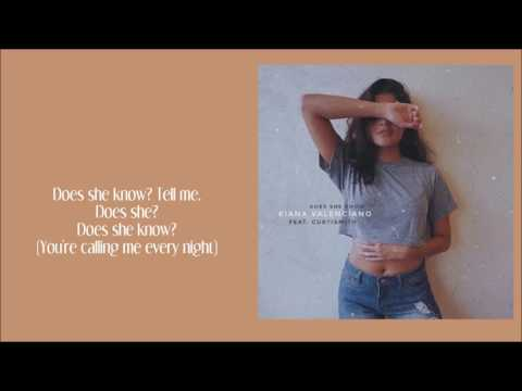 Download Kiana Valenciano - Does She Know (Lyrics) free