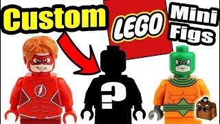 New Flash LEGO Custom Minifigures 2017
