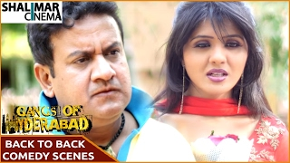 Gangs Of Hyderabad Movie || Back to Back Comedy Scenes Part 02 || Gullu Dada, Ismail Bhai