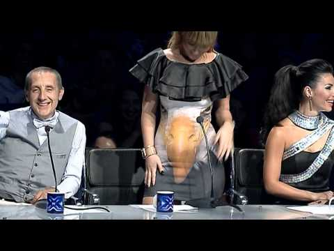 Kamera e fshehte JURIA nata finale X Factor Albania 3
