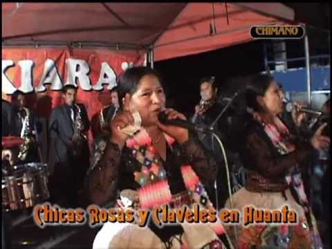 CHICAS ROSAS Y CLAVELES EN HUANTA