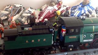 Lego 10194 Emerald Night Train Custom XL Motor Modification MOC