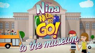 To The Museum | Nina Needs to Go | Disney Junior