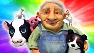 Old MacDonald Had a Farm   Kid's tv Songs   New Nursery Rhymes