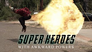 SUPERHEROES WITH AWKWARD POWERS | David Lopez