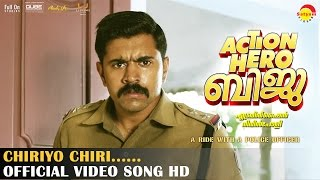 Chiriyo Chiri Official Video Song HD | Action Hero Biju | Nivin Pauly | Anu Emmanuel