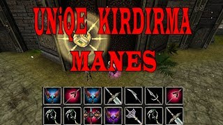 Knight Online Manes | 21 Tane Uniqe İtem Kırdırma | Para Kasma | Krowaz Drop