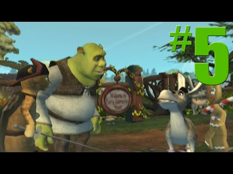 Shrek 2 Game Walkthrough Part 5 Walking the Path No Commentary Gameplay Gamecube Xbox PS2