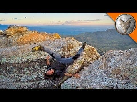 HORRIFIC CLIFF FALL Does NOT Make Jump