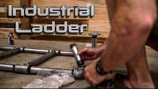Making A Metal Ladder From Plumbing Pipe