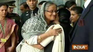 Bangladesh PM Sheikh Hasina Reaches Delhi for President's Wife Funeral Ceremony - India TV