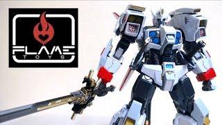 【トランスフォーマー IDW】 Flame Toys 鉄機巧 01ドリフト ヲタファの遊び方レビュー / Flame Toys Transformers 01 Drift