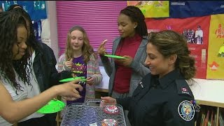 'Girlz Will Be Girlz': police officer mentors young girls