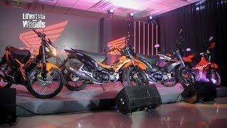 Honda Philippines Unleashed 3 New Motorcycle Models