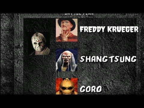 Xxx Mp4 Mortal Kombat 1 HD Remake Jason Full Playthrough Freddy Krueger Final Boss 3gp Sex