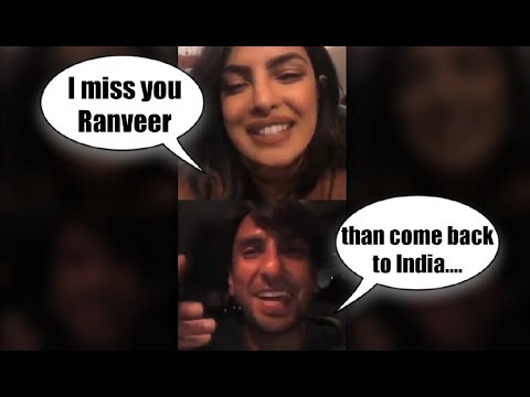 Xxx Mp4 Priyanka Chopra And Ranveer Singh Live Video Chat On Instagram 3gp Sex
