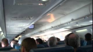 Turbulence on 757 morning flight over the Rockies 2/2011