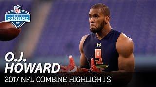 O.J. Howard (Alabama, TE) | 2017 NFL Combine Highlights