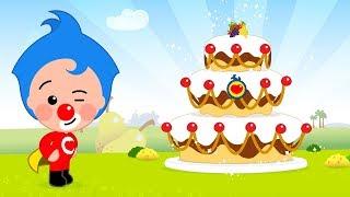 Let's Make A Cake - Plim Plim | Animated Series | The Children