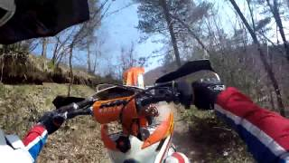 Kawasaki KX250 VS KTM EXC250