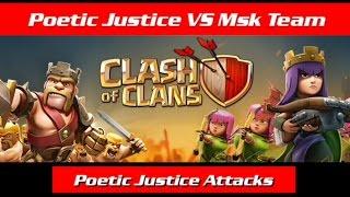 Poetic Justice VS Msk Team