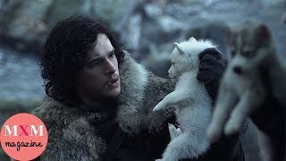 [J - Vreview] Sự Giống Nhau Đến Kỳ Lạ Giữa Những Chú Sói Tuyết Và Những Đứa Con Nhà Stark