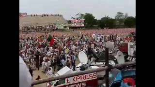 Imran Khan Swat Jalsa Video