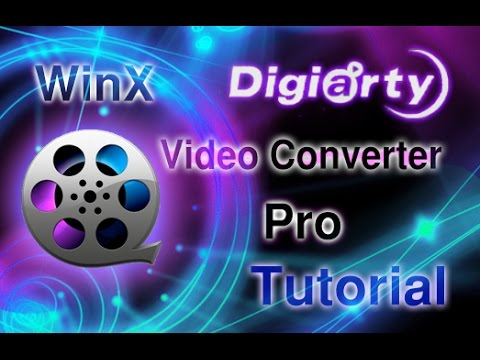 Download Free 4K/1080p WinX Video Converter Review & Tutorial HD Mp4 3GP Video and MP3